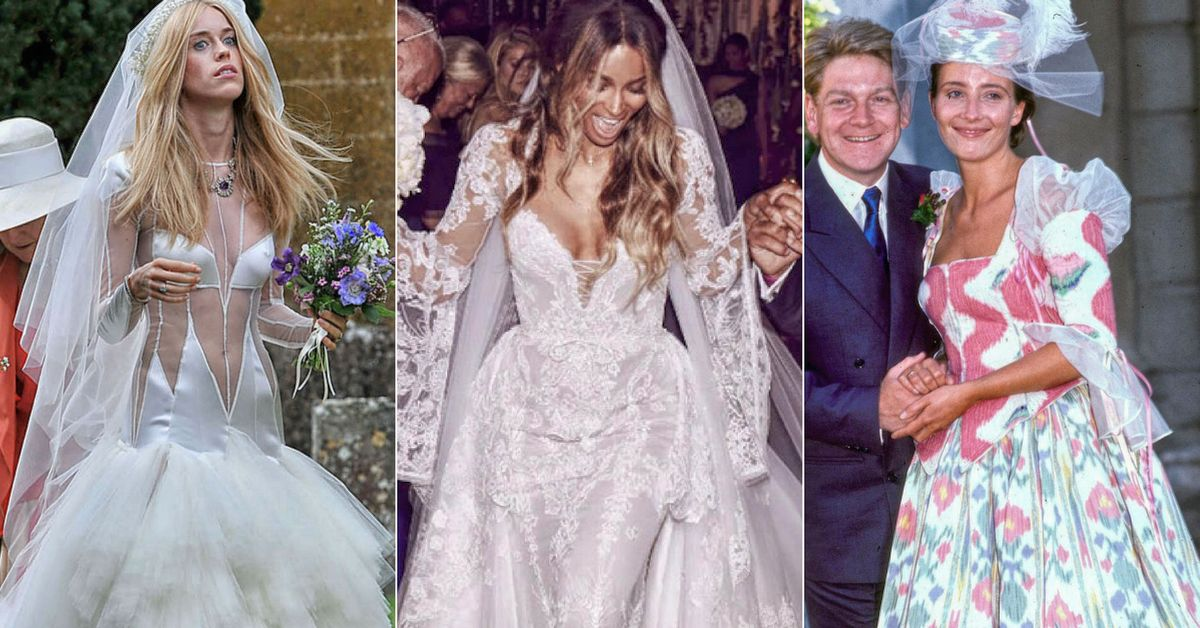 8 Celebrity Brides Who Were Absolutely Gorgeous And 7 That Made Us ...