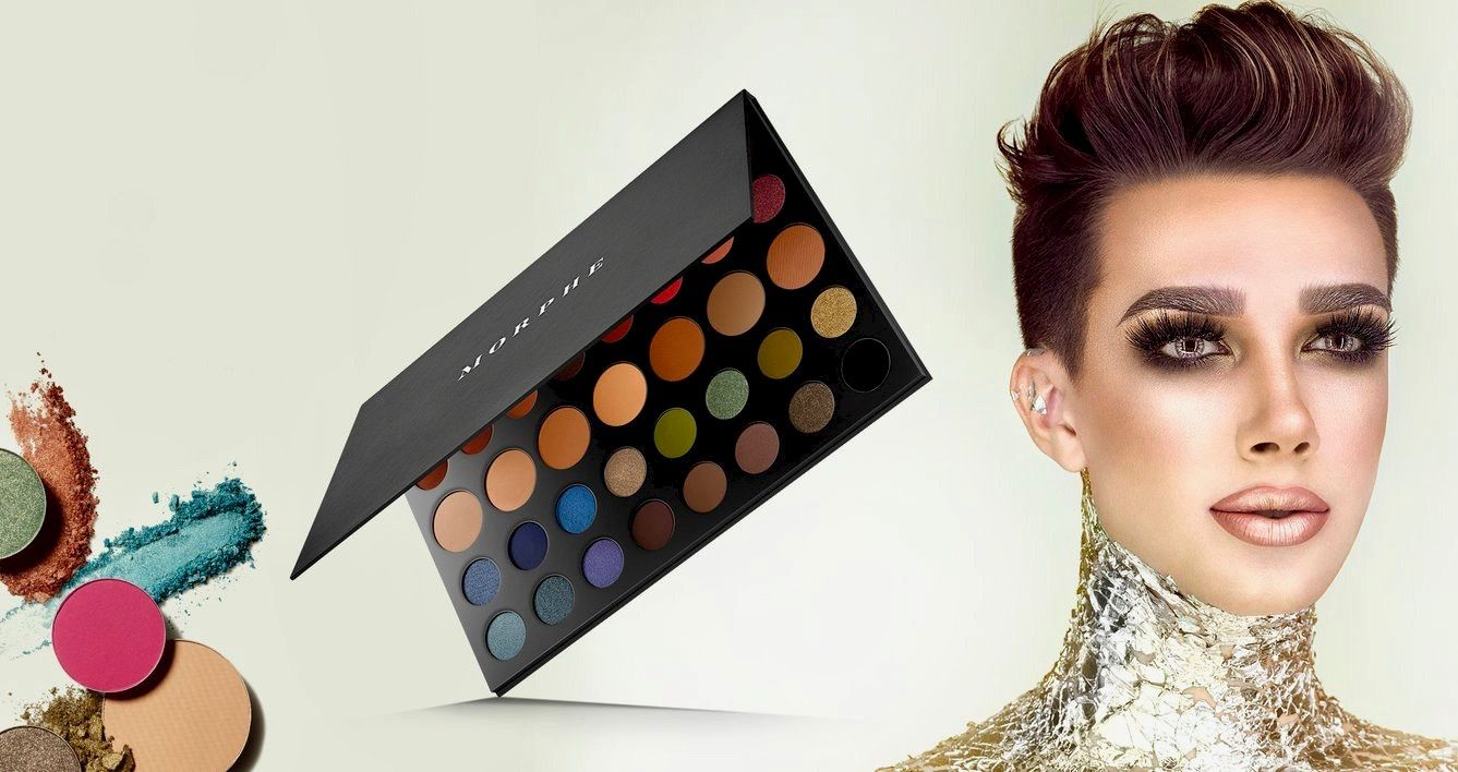 YouTube MUA James Charles Launches Collaboration With Morphe